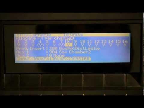 9 Kurzweil PC3 Series: FX Basics