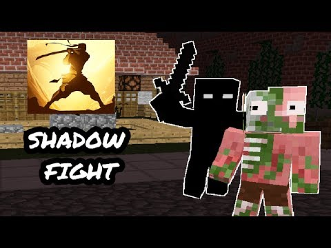Monster School: Shadow Fight CHALLENGE - Minecraft Animation