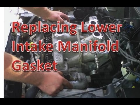 Replacing Chevrolet Lower Intake Manifold Gasket