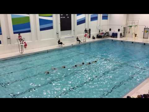 Novice & Recreational Extravaganza. Synchro swimming. Novice 11-12. 4K