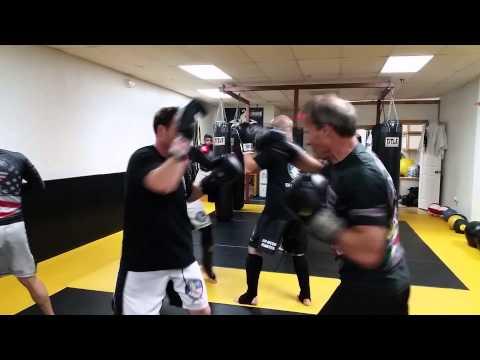 Adult Kick Boxing drills