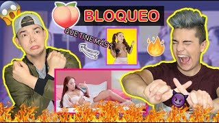 REACCIÓN a BLOQUEO (roast yourself challenge) - LUISA FERNANDA W