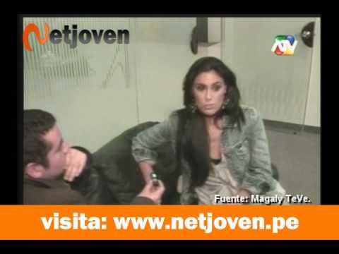 Magaly Medina presenta detrás de cámaras de la llegada de Isabel Rábago a Perú
