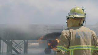 A day in the life of an Aviation Fire Fighter