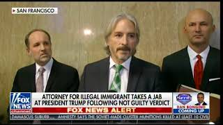 Far Left Attorney for Illegal Alien Who Gunned Down Kate Steinle ATTACKS DONALD TRUMP