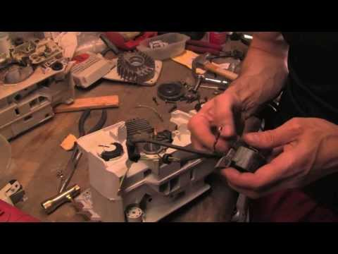 Detailed and Complete reassembling of Stihl Chainsaw (MS390)