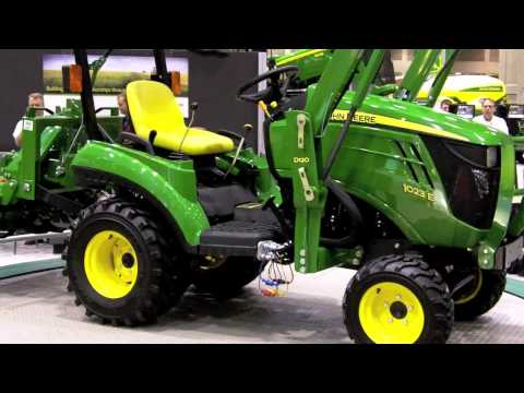 John Deere Subcompact 1 Series Tractor