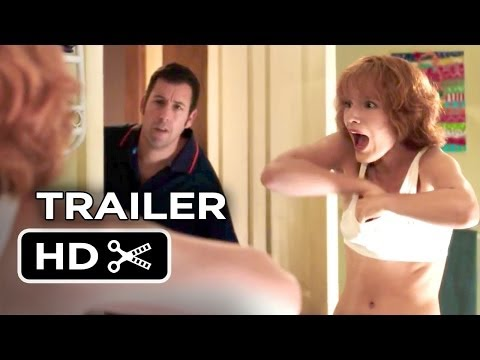 Blended Official Trailer #1 (2014) - Adam Sandler. Drew Barrymore Comedy HD