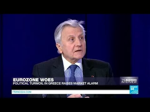 'Greece won't leave the eurozone', says former ECB president Trichet