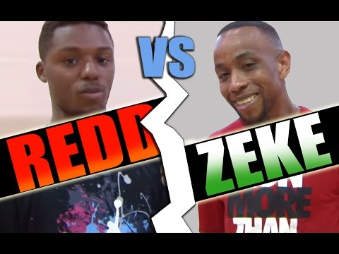 V1f - 1 On 1 Basketball, Game 056 (zeke Vs Redd) video