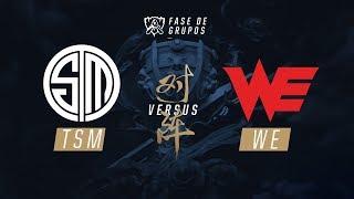 TSM x Team WE (Fase de Grupos - Dia 3) - Mundial 2017