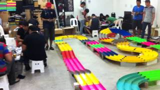 TAMIYA MINI 4WD (GS Haus of Hobbies) RACE Highlight 11th July 2014