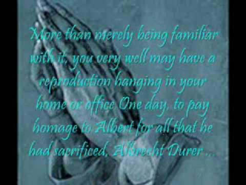 Albrecht Durer Praying Hands Rer Manos Que Oran Youtube