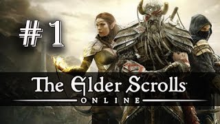 The Elder Scrolls Online Gameplay Walkthrough Part 1 - Imperial Dragonknight (ESO PC Ultra)