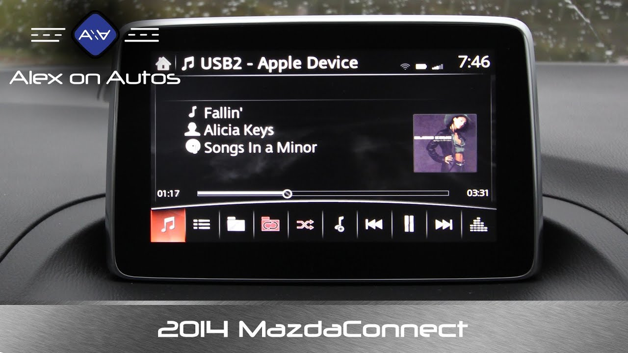 2014 2015 Mazda3 Mazdaconnect Infotainment Review Youtube
