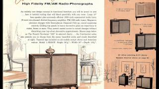 Magnavox Stereo Catalog for 1959 in 720p HD