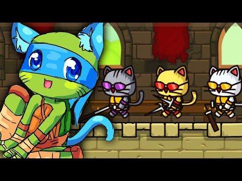 ЧЕРЕКОШКИ - НИНДЗЯ ► StrikeForce Kitty |5| Прохождение