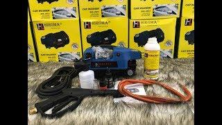 HIROMA | Hướng dẫn sử dụng máy rửa xe áp lực cao CHÍNH HÃNG HIROMA