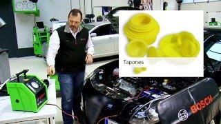 Detectar una fuga en el motor con el SMT 300 de Bosch