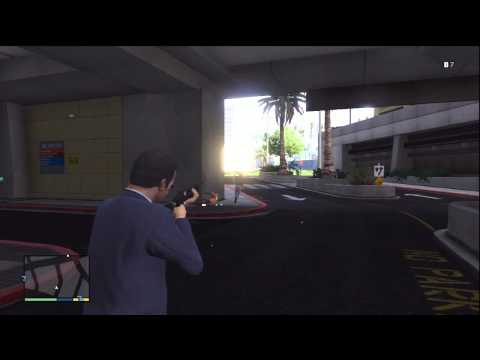 GTA V (GTA 5): Gun Mechanics / Shootout? Gameplay (Xbox 360)