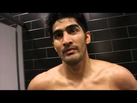 VIJENDER SINGH BATTERS ROYER & STATES INTENTION TO FACE AMIR KHAN IF WEIGHT CAN BE RESOLVED
