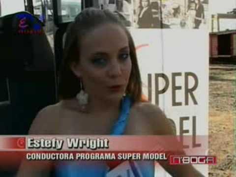 Candidatas a Super Model en sesión de fotos en Durán