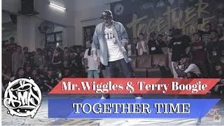 Pokaz sędziów na TOGETHER TIME 2016: Mr. Wiggles & Terry Boogie