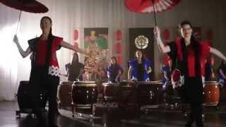 Taiko In Spiration Группа японских барабанщиц Moscow Wadaiko Dojo