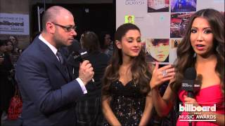 Ariana Grande Backstage at the Billboard Music Awards 2013