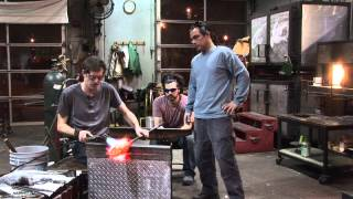 Glass Blowing Switchback Technique