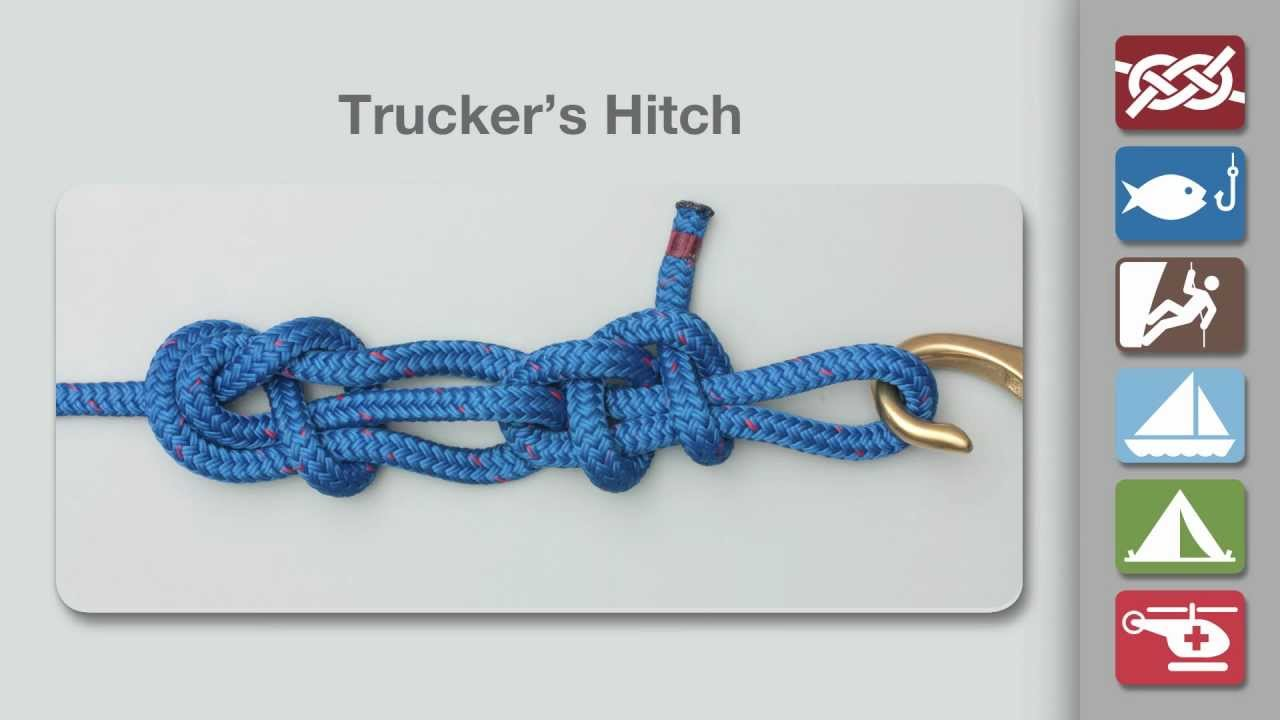 Trucker's hitch как вязать