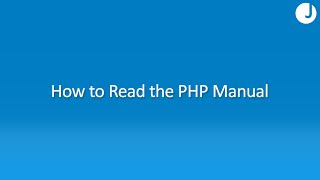 How to Read the PHP Manual
