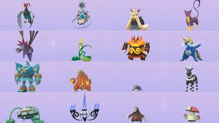 ALL UNOVA (Gen 5) POKEMON AND EVOLUTIONS IN POKEMON GO!!! Except the monkeys. Those damn monkeys...