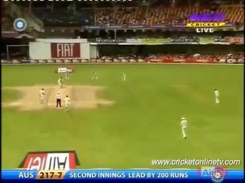 Zaheer Khan Reverse Swing Makes Batsmen Stun ---  Best Reverse Swing in History  Of Cricket.........