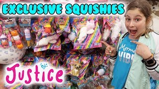 Justice EXCLUSIVE SQUISHIES!!! 😍Plus so much Slime and Squishies at Justice!