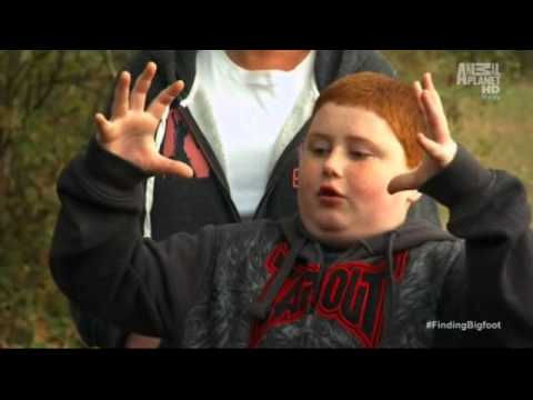 Finding Bigfoot Redhead Kid