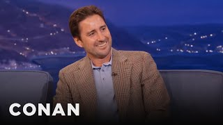 Luke Wilson Always Falls In Love With His Costars  - CONAN on TBS