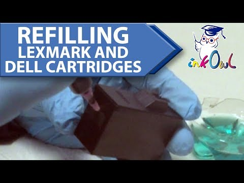 How to Refill Lexmark and Dell Inkjet Cartridges