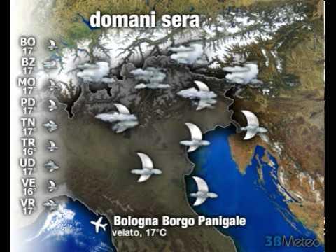 Meteo ITALIA del 15/04/2013