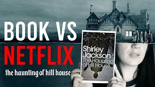 Book Vs Netflix: The Haunting of Hill House by Shirley Jackson.