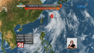 24 Oras: Weather update as of 6:15 PM | August 9, 2020