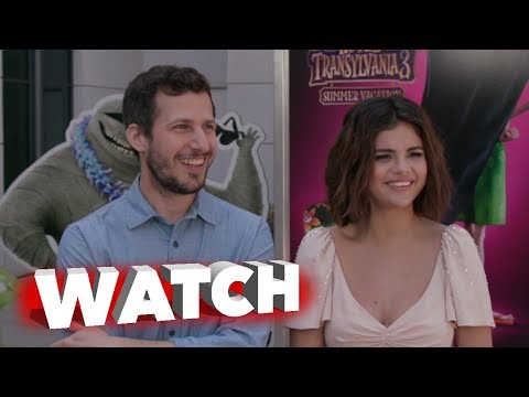 Hotel Transylvania 3: Summer Vacation Press Day Featurette with Selena Gomez and Andy Samberg thumbnail