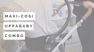Maxi-Cosi Mico Max 30 Review and UPPAbaby Car Seat Adapter Demo