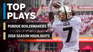 2018 Season Highlights: Purdue Boilermakers | Big Ten Football