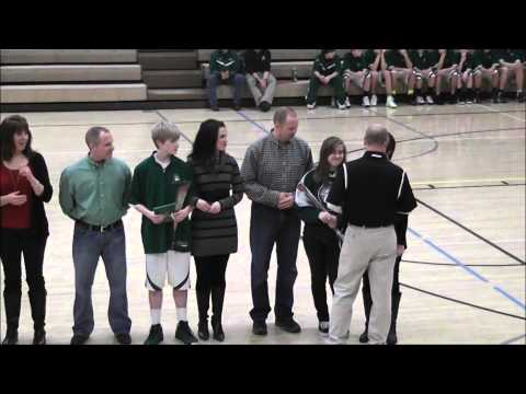 Iowa Christian Academy Senior Day 2013