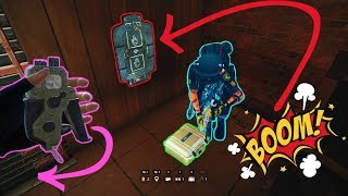Trapping the Defuser CHALLENGE #1  - Rainbow Six Siege Blood Orchid Funny Moments