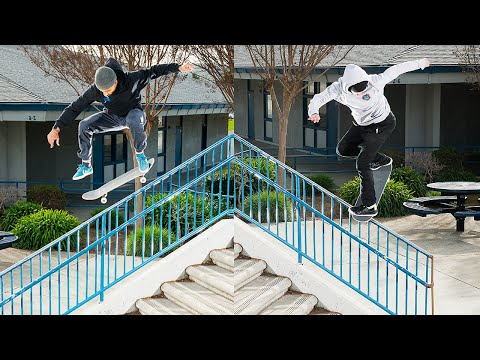 SO Many Hammers! 18 STAIR Noseblunt?! Day Of Destruction | Santa Cruz Skateboards