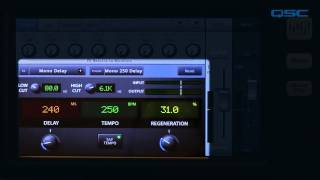 QSC TouchMix Training: 05 Advanced Effects (Spanish)