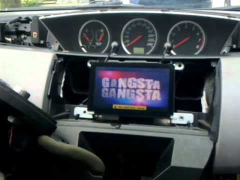 Nissan Primera p12 Navi Video in