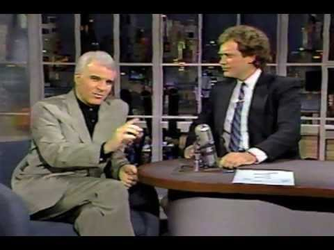 Letterman: Steve Martin interview [1986]